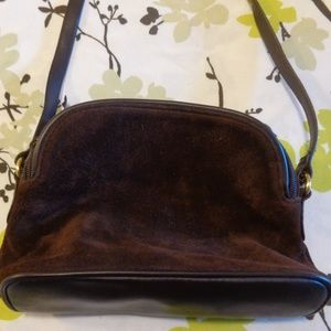 Vintage Valerie Stevens Brown Shoulder Purse